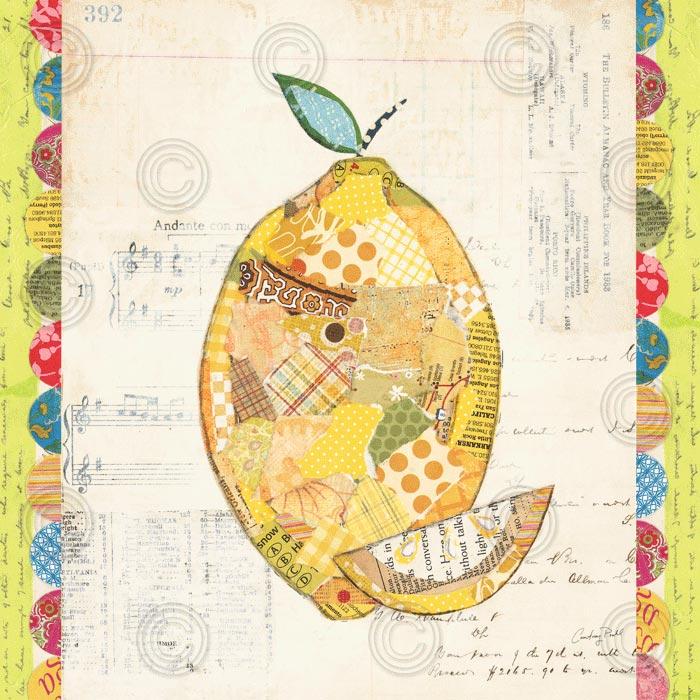Fruit Collage II – Lemon