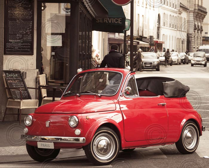 Cutest Car in Paris