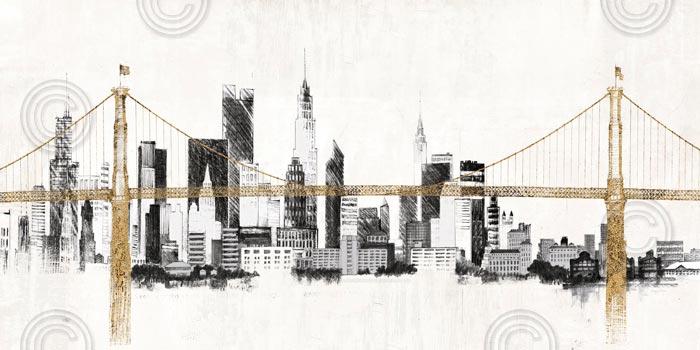 Bridge and Skyline