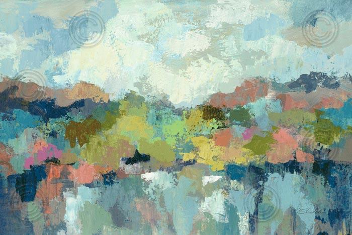 Abstract Lakeside