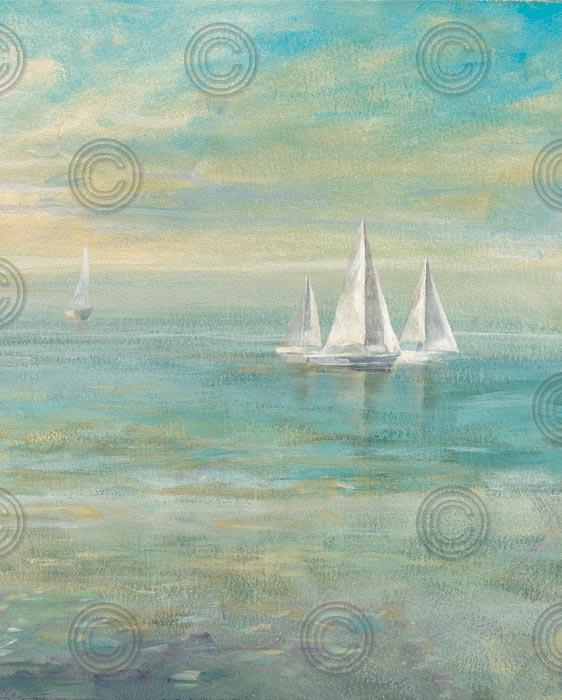 Sunrise Sailboats II
