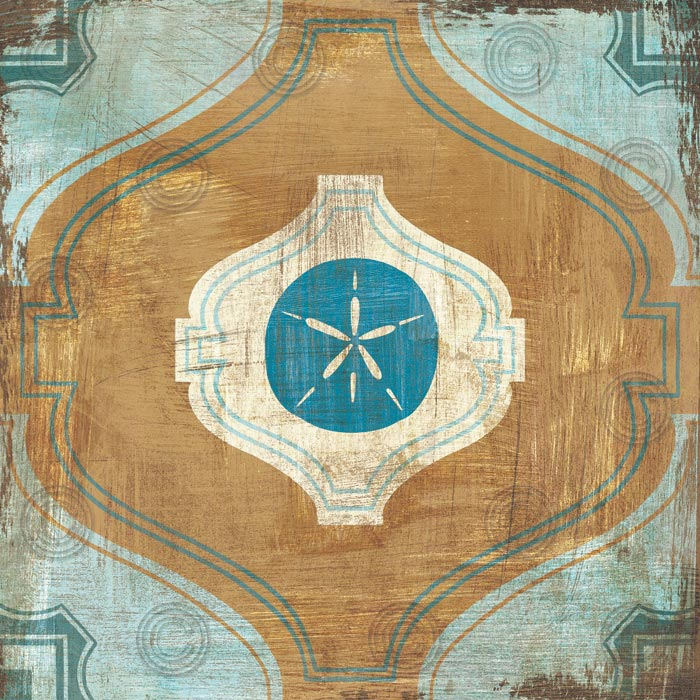 Bohemian Sea Tiles VII