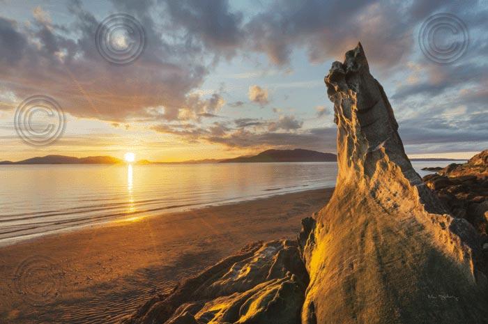 Samish Bay Sunset I