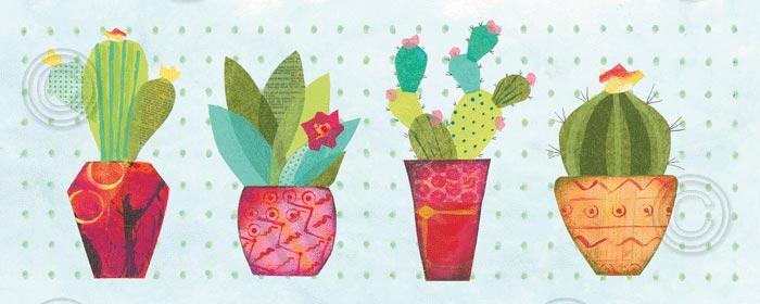Southwest Cactus V
