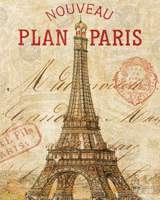 Letter from Paris 8×10
