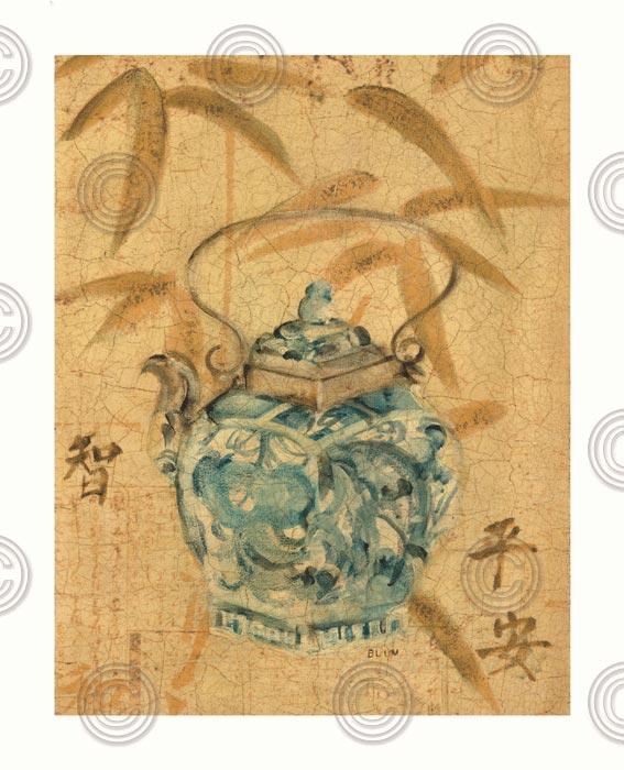 Asian Teapot II
