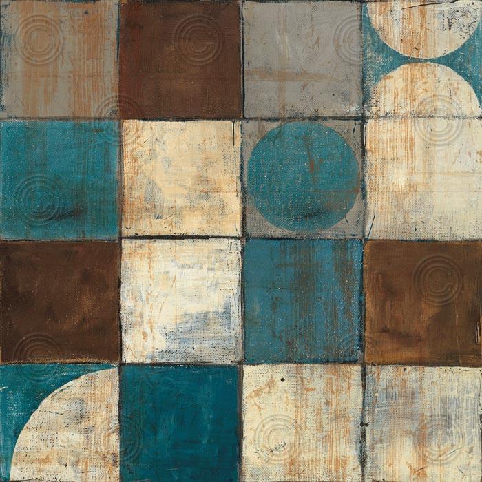 Tango Detail II – Blue Brown
