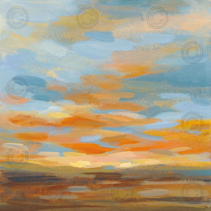 High Desert Sky II Bright Blue