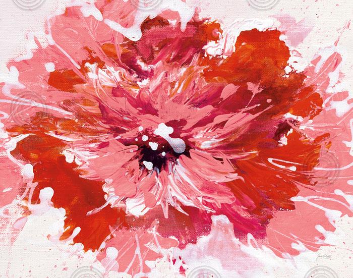 color en la flor